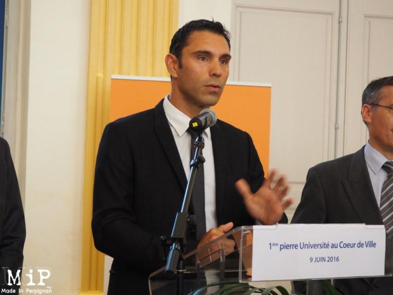Fabrice Lorente, Président de l'Université