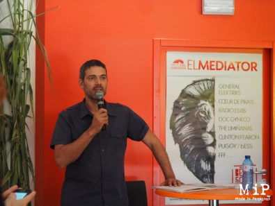 Julien Bieules, programmateur El Médiator