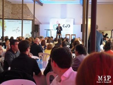Plus de 300 participants à la soirée prestige du CJD