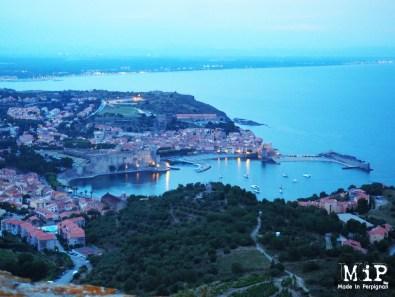 Vue de Collioure depuis le fort Saint Elme