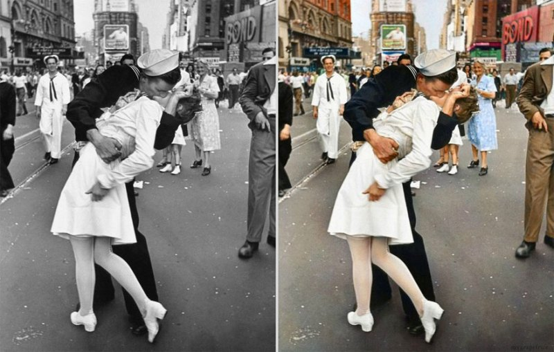 photo couleur VJ day @tuxboard.com
