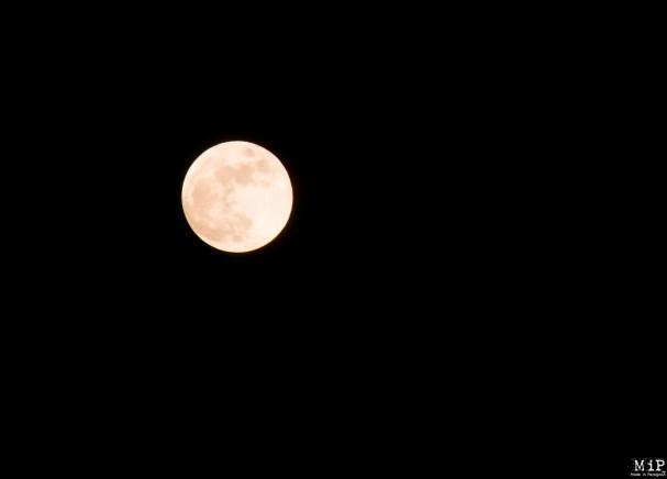 Pleine lune avant le phénomène