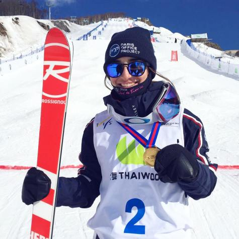 Perrine Laffont championne du monde