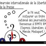 DuBulle #32 Journée mondiale de la Liberté de la Presse