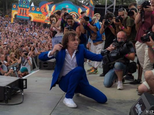 Bruno Cali fait monter les photographes sur scène