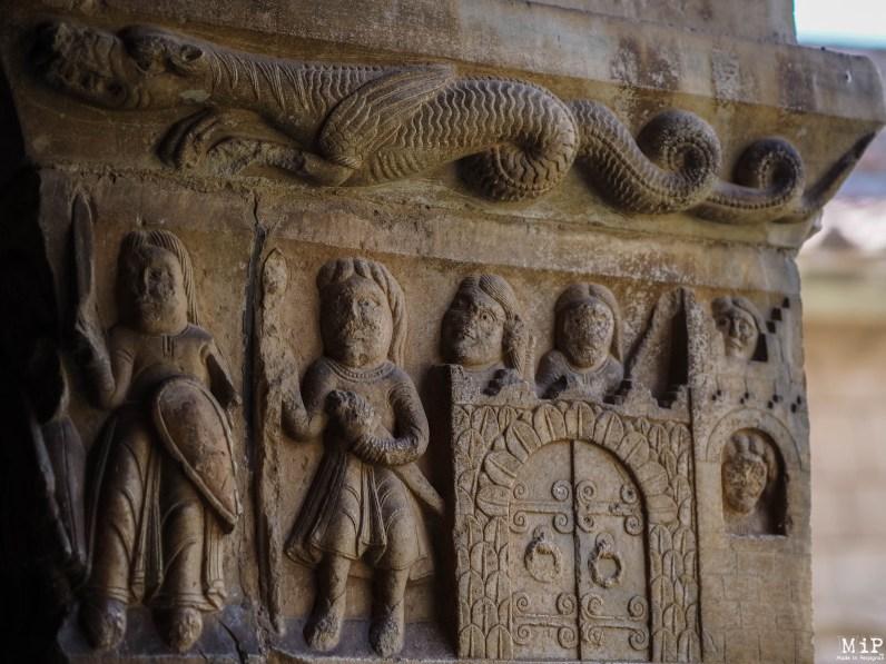 Bas-relief du cloître d'Elne