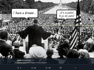 I Have A Dream - Hablan en Espagnol !