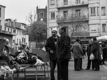 Place Cassanyes un jour de marché