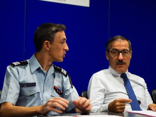 Colonel Denis Nauret - Philippe Vignes Préfet des PO