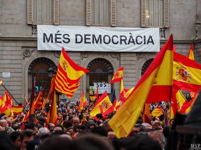 Barcelone - Manifestation des pro Espagne contre le référendum catalan-9300165