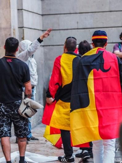 Barcelone - Manifestation des pro Espagne contre le référendum catalan-9300528