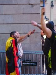 Barcelone - Manifestation des pro Espagne contre le référendum catalan-9300554
