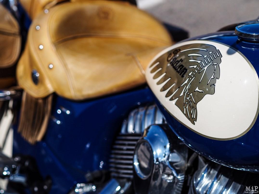 Concentration Harley Davidson à Saint Cyprien dans les Pyrénées Orientales-9160030