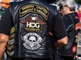 Concentration Harley Davidson à Saint Cyprien dans les Pyrénées Orientales-9160060