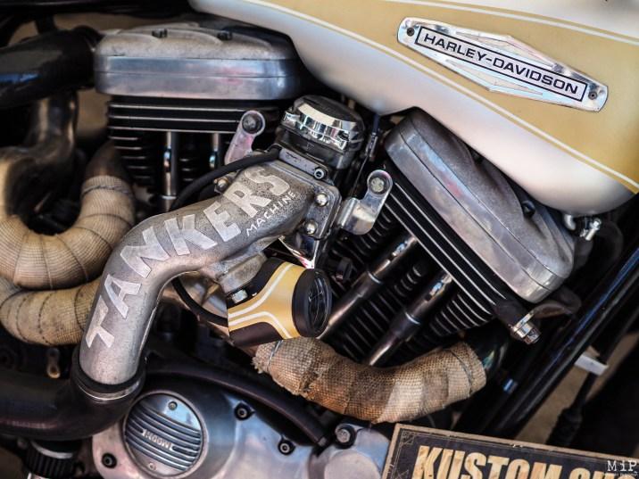 """L'une des passions des """"bikers"""" est la customisation de sa machine"""