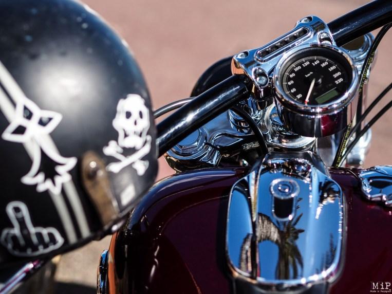 Concentration Harley Davidson à Saint Cyprien dans les Pyrénées Orientales-9160091
