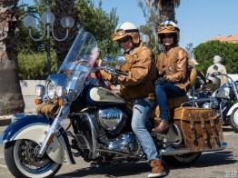 Concentration Harley Davidson à Saint Cyprien dans les Pyrénées Orientales-9160127