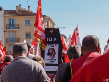 Mobilisation contre la réforme du travail à Perpignan-9210040