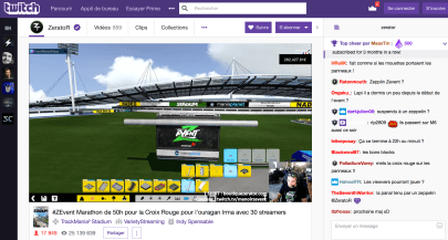 Screen twitch ZEvent