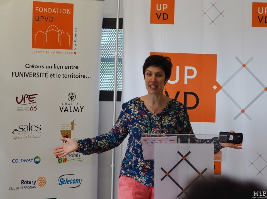 Florence Fabre - Nouvelle directrice pour la Fondation UPVD-190057