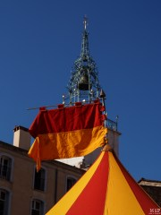 Le Campo Santo théâtre de campement médiéval
