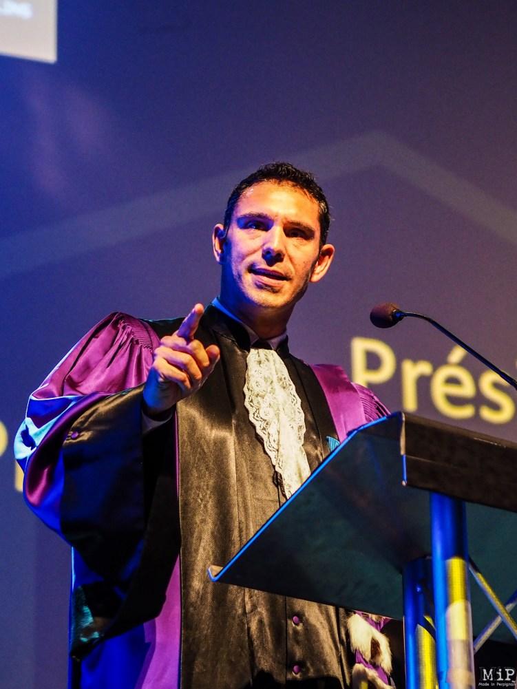 Fabrice Lorente, Président de l'UPVD