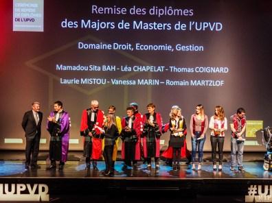 Céremonie de remise des diplomes UPVD - promotion 2017 - Parrain François Molins-240321