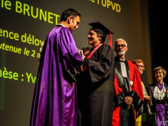 Céremonie de remise des diplomes UPVD - promotion 2017 - Parrain François Molins-240607