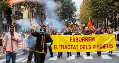 «Diada» en Catalogne Nord – Soutien aux «prisonniers politiques» et «abolition du traité des Pyrénées»