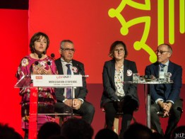 Carole Delga - Jean Marc Pujol - Hermeline Malherbe - Jean Louis Chauzy
