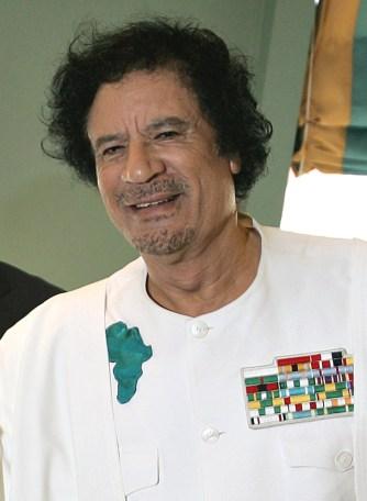 Muammar Kadhafi - Wiki Commons