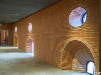 Détail architectural de l'ancien Couvent Saint Sauveur