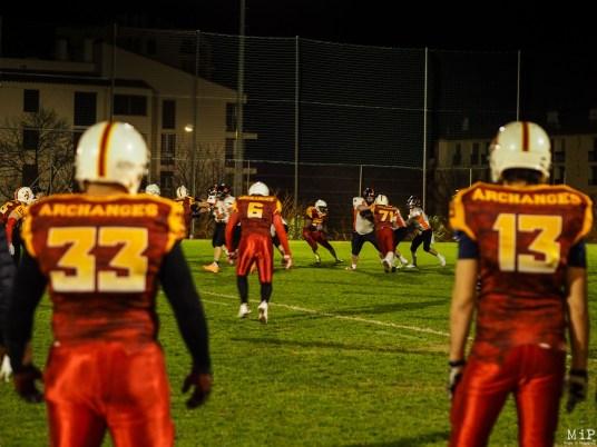 Football américain - Archanges Perpignan VS Scorpions Muret-1200545