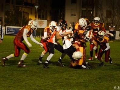 Football américain - Archanges Perpignan VS Scorpions Muret-1200575