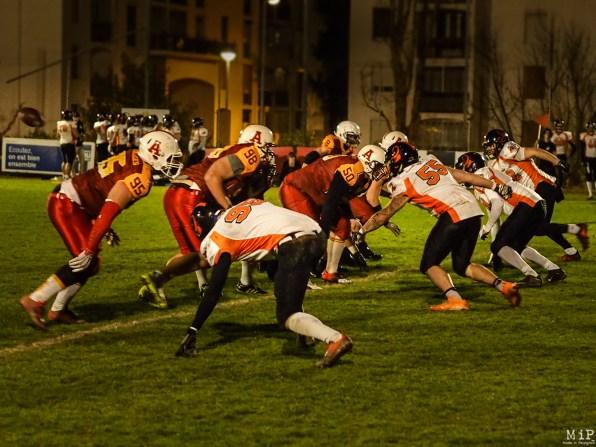 Football américain - Archanges Perpignan VS Scorpions Muret-1200580