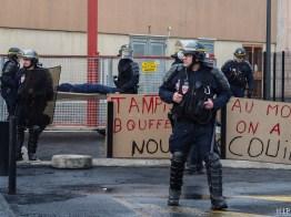 Prison de Perpignan - Blocage - Janvier 2018-1251557