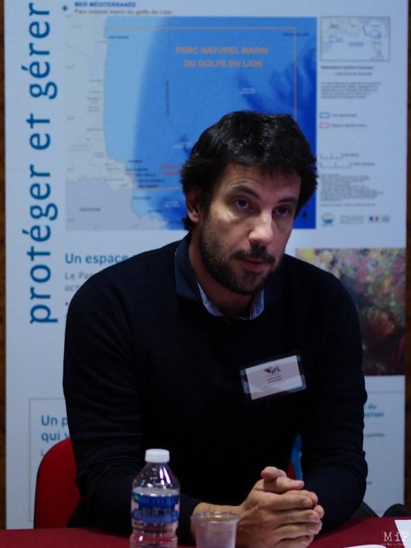 Nicolas Robin enseignant chercheur au CEFREM