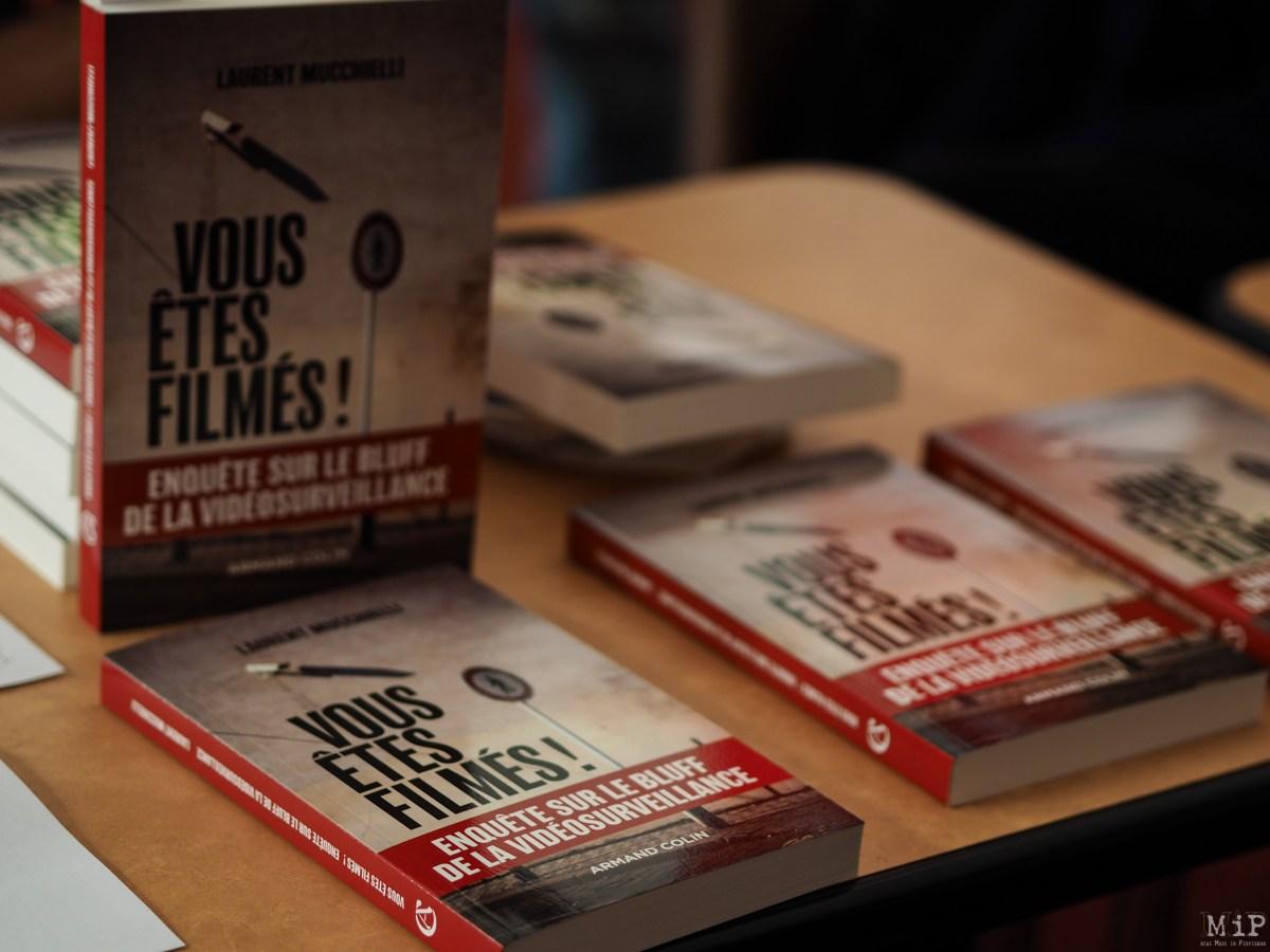 """""""Vous êtes filmés"""" aux éditions Armand Colin par Laurent Mucchielli"""