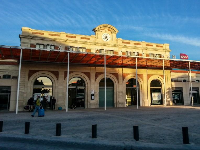 Gare de Perpignan - Wiki Commons-