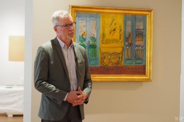 Christian Briend - Commissaire de l'exposition Raoul Dufy au Musée Riguaud de Perpignan
