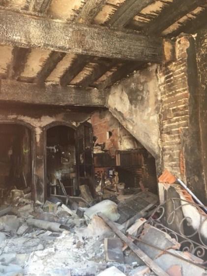 Images Olivier Amiel - Saint Jacques intérieur des bâtiments prévus à la destruction