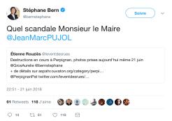 Stéphane Bern interpelle JMP