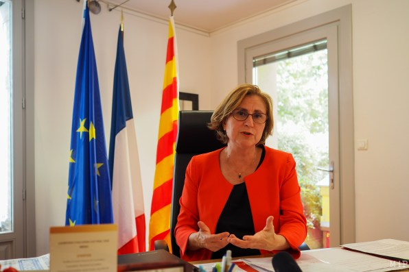 Hermeline Malherbe - Présidente Conseil Départemental 66