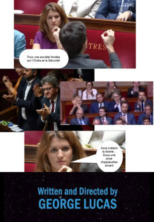 Le Sénat c'est moi de Mélenchon - Credit Rejoins le côté obscur, on a des cookies - 3