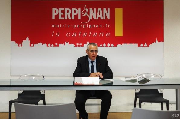 Jean Marc Pujol Maire de Perpignan