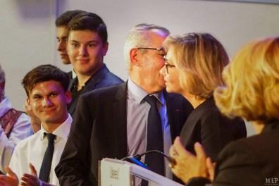 Valérie Pecresse Présidente du mouvement Libres en visite à Perpignan