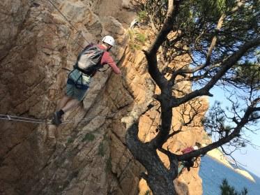 Via ferrata Saint Feliu de Guixols - Blog KikiMagtravel 5