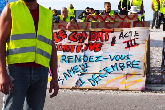 Gilets Jaunes Acte 3 - Samedi 1er Décembre - Perpignan