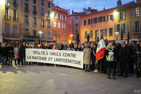 Contre le racisme et l'antisemitisme à Perpignan-16