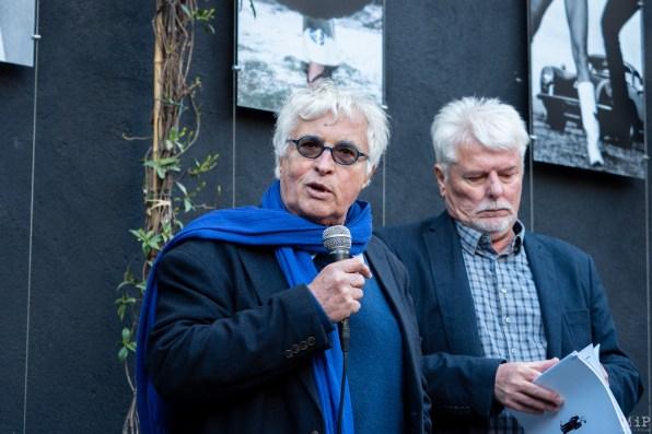 Michel Cadé et Alain Loussouarn du Festival Confrontation Institut Jean Vigo Perpignan Avril 2019
